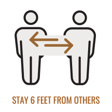 Stay 6 Feet From Others