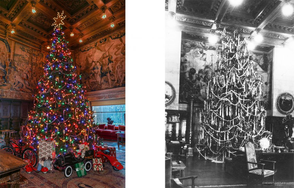 Christmas Tours.Christmas At Hearst Castle